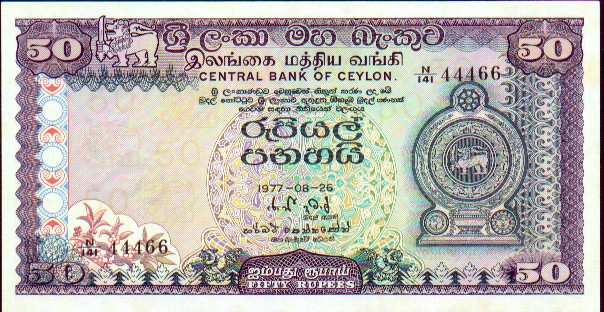 Shri lanka currency